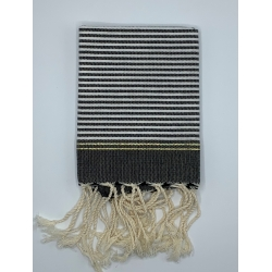 Mini Fouta Tissage à Plat Lurex - MFTPL009