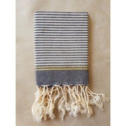 Mini Fouta Tissage à Plat Lurex - MFTPL012