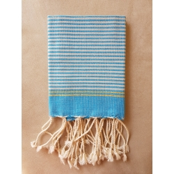Mini Fouta Tissage à Plat Lurex - MFTPL002