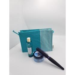 Trousse de Toilette Plastifiée Verte Turquoise - TDTPVT006