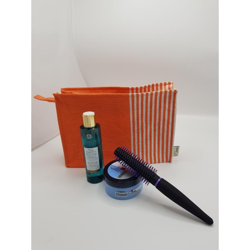 Trousse de Toilette Plastifiée Orange - TDTPO007